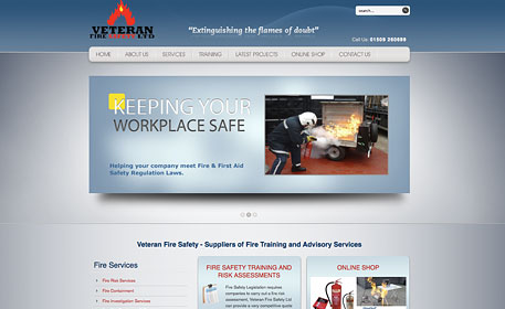 new cms web design for veteran fire safety