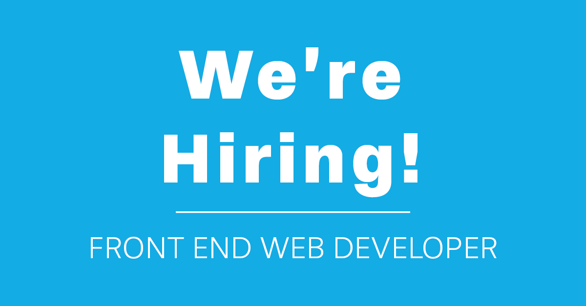 Lnet Digital is Hiring Front End Web Developer